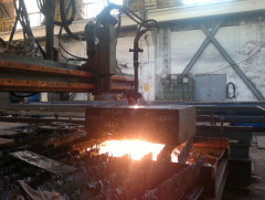 Thermal cutting of the articles made of sheet