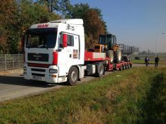 Transport niskopodwoziowy maszyn Wrocław HDS