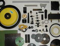 Produkcja formowych detali gumowych