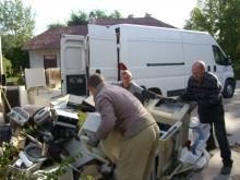 Odbiór, transport, utylizacja zużytego sprzętu