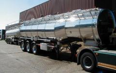 Transport produkcji chemicznej