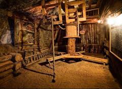 Zwiedzanie wystaw -kopalnia soli