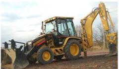 Obsługa serwisowa maszyn do prac budowlanych