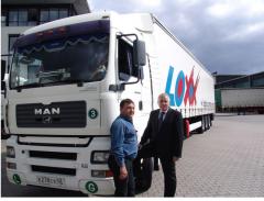 Transport międzynarodowy - drobnica Europa Zachodnia