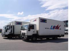 Transport międzynarodowy - drobnica, Europa Południowa