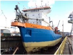 Remont statków w suchym doku