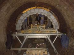 Bricklaying of boilers