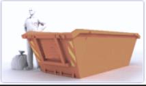 Wynajem kontenerów do wywozu śmieci i odpadów