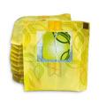 Saszetki dwukomorowe z zawieszką i sznurkiem w kopertce foliowej (nieprzepuszczające aromatu)