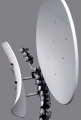 Usługi telewizji satelitarnej.