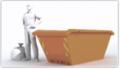 Wywóz śmieci kontenerami